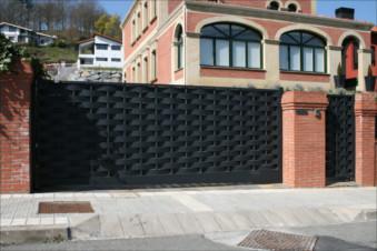 Puerta corredera automatica valencia for Puertas correderas valencia